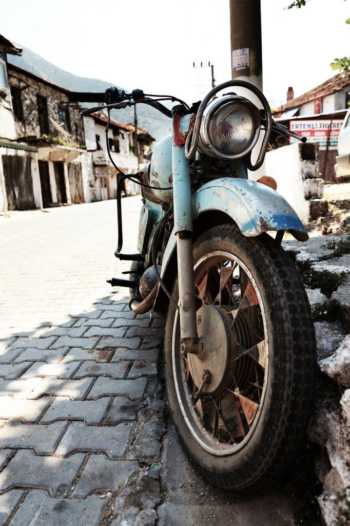 Motocykle, Historia